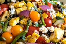 Sides & Snacks / Side dishes filled with veggies that pair well with any main course.
