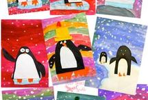 School - Thema winter / by Eve Pinxteren