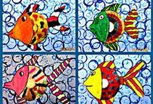 School - Thema dieren / by Eve Pinxteren
