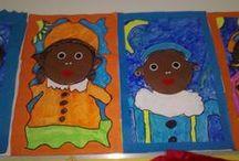 School - Thema Sinterklaas / by Eve Pinxteren