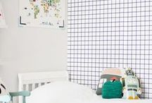 Lastenhuone-ideat / Inspiration ideas, children´s room. Tila- ja inspiraatiokuvia, lastenhuone. Inspirationsbilder, barnrum.