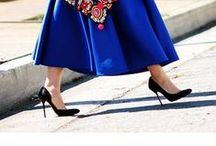 Royal blue fashion / All the shades of blue