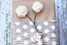 W R A P P I N G  gifts / Different ways and ideas how to wrap gifts.