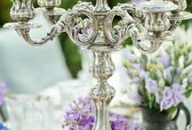 Flowers, silver and antique