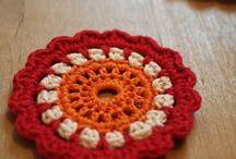 Granny / granny crocheting