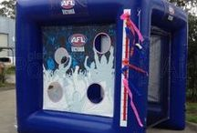 AFL Themed Inflatables / AFL themed inflatables.