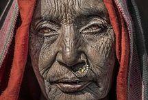 Human faces / unusual, strange, mysterious, beautiful