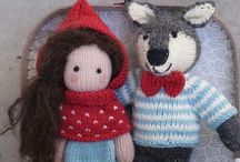 Knitted dolls and toys / Knitting dolls and toys. My design  Dolls and their Friends❣️
