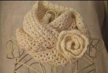 4 Crochet (Scarf-Shawl) / by Amira Zaky