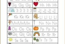 Alphabet / Especially about learning those ABC's for little ones. / by Layers of Learning
