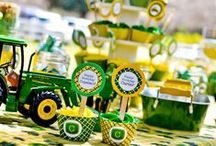 Farm Party Ideas / Wouldn't these be fun to have at our farm?? Here are some fun ideas for any farm themed party -- whether you hold it at your home or on our farm.  Contact us if you are interested in hosting your party on the Farm! www.ottawafarms.com