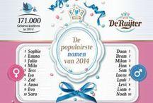 NAMEN / De Ruijter presenteert: de populairste namen.