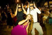 A bailar!!! / Los momentos mas felices de las bodas que realizamos, baile, disfraces unas copas y a bailar #love #party