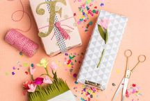 Wrapped up / Pretty details with #gifts #giftwrapping #packaging