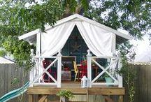 veranda/tuin / mooie tuinen en veranda's