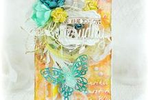 CARDS & TAGS FROM CANADA: Pamellia Johnson / ROCK STARS OF CARD MAKING