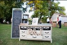 #ChalkboardWedding / Our outdoor wedding took place on September 27th, 2014 at the Red Barn Farm of Northfield in Minnesota. Here's our story. All photos by Emily Barrera Photography LLC. #Chalkboardwedding #barnwedding #farmwedding