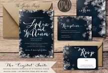 Wedding Invitations Winter