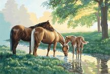 The art of horses