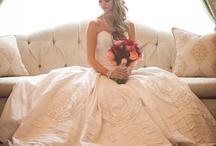 Prinzessinnenbrautkleid / Brautkleider, die pompös geschnitten sind und an Prinzessinnenkleider erinnern.