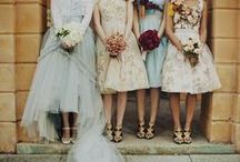 Bridesmaids, Groomsmen, Ring bearers  & Flower girls