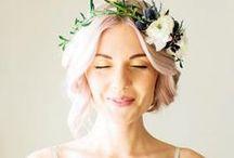 ❤ Inspiration : jolie mariée ❤ / Des jolis accessoires, robes, idées coiffures, maquillage pour une très jolie mariée / by Bubble & Joy