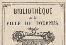 Ex-Libris / Voici un échantillon d'ex-libris tournusien que vous pouvez retrouver dans le tome 23 des Annales de la Société des amis des arts et des sciences de Tournus de 1923. (En ligne sur Gallica : http://gallica.bnf.fr/ark:/12148/cb34352720h/date)