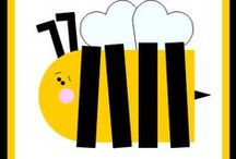 Biene und Storch
