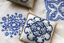 Embroidery, Textiles and fabric art