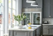 Kitchen / Inspiration for dreamy and functional Kitchens / by Cassie {Hi Sugarplum}