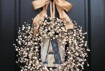 wreaths / by Kaycee Sites