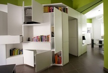 02-11 Small space living / Clever ideas for living in smaller spaces / by Diagrammable