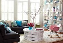 Family Room / Comfortable and stylish family room ideas / by Cassie {Hi Sugarplum}