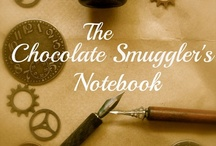 Chocolate Smuggler's Notebook / This is my idea page for my alternate history/Old West/steampunk WIP.