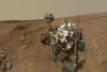 Curiosity explores Mars / A board for all things Mars and NASA's Curiosity mission – a car-sized rover also known as the Mars Science Laboratory (MSL) / by National Space Centre