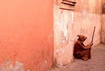 Marrakesh - Morocco / The imperial city of Marrakesh (or Marrakech) also known as the 'Red City'.
