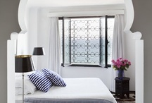 White Moroccan Interior / stunning White Moroccan inspired interiors....