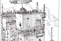 Urban sketching / Sketch Urban