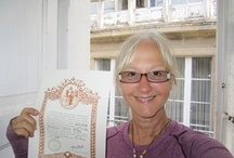 """The Women of """"Women of the Way"""" / This board is dedicated to the women featured in Women of the Way. For their story, read Women of the Way: Embracing the Camino http://tinyurl.com/82ser2d"""