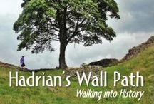 Hadrian's Wall Books / In 2013, I walked Hadrian's Wall Path. Since then I love reading about the Wall and its history. Look for my review of the books I have read.