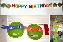 Party - Ninja Turtles