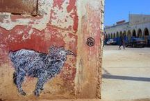 Street Art in Morocco / Images of Street Art around Morocco