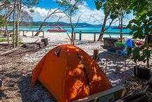 Camping / Where to pitch a tent in the great outdoors and how to look good doing it.