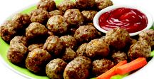 Party foods / Healthy game day appetizers and party ideas. #kids #SuperBowl #recipes #appetizers