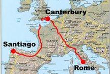 La Via Francigena / Someday I will make this pilgrimage