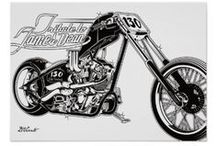 Kustom Kulture Gifts (Zazzle Stuff) / 100% Kustom Kulture Gifts from Zazzle. Tshirts, mugs, pins, cards, posters, clocks, pillows & more. For Rockers, bikers, rodders, etc.