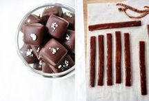 Pralines and chocolates