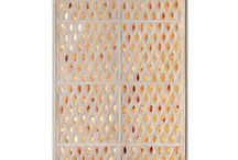 Jali Collection / Our decorative Jali screens are hand carved onto marble or limestone and are beautiful interior features ideal for window shutters, terraces, gardens and room dividers.