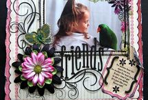 Scrapbook layouts and ideas