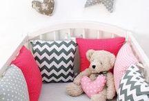 Gray baby room